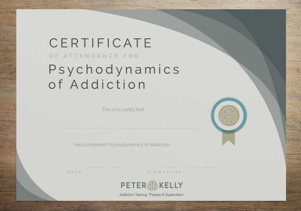 Peter Kelly Addiction Therapy - Morne Luus Design